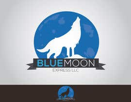 nº 66 pour Design a Logo for Blue Moon Express LLC par mekuig