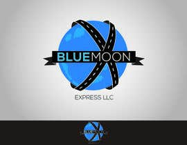 nº 69 pour Design a Logo for Blue Moon Express LLC par mekuig