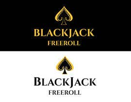 #185 for Design a Logo for Blackjack Freeroll by tudorgandu