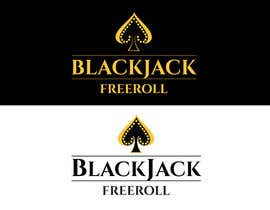 #187 for Design a Logo for Blackjack Freeroll af tudorgandu