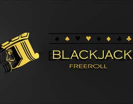 #177 for Design a Logo for Blackjack Freeroll af adeelsb