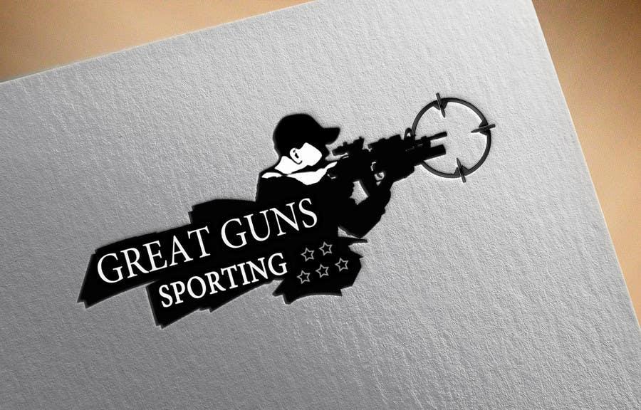 great guns shooting range logo freelancer