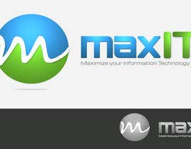 #147 for Design a Logo for MaxIT by vinkisoft