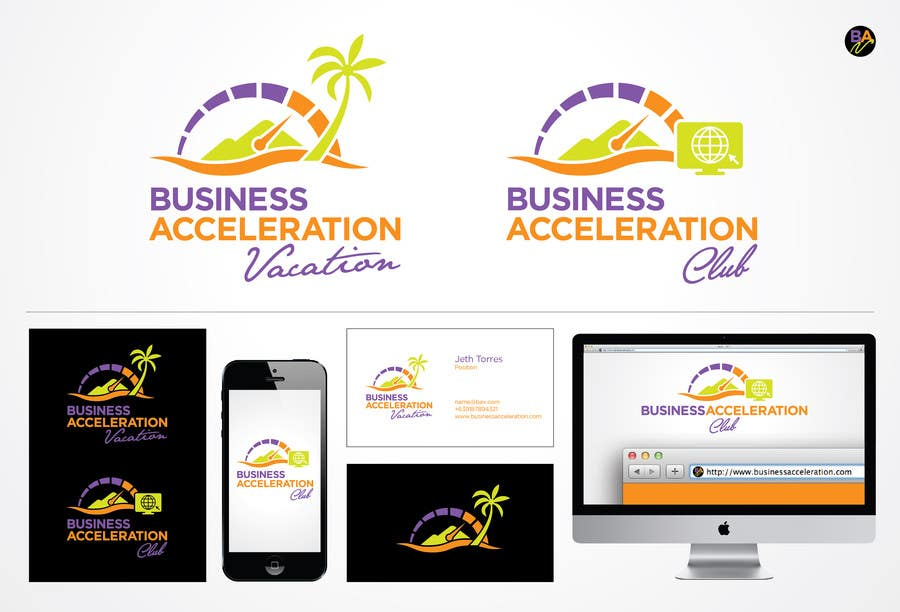 #121 for Design a Logo for Business Acceleration Vacation / Business Acceleration Club by jethtorres
