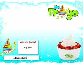 #4 for MrFroyo flyer design af unophotographics