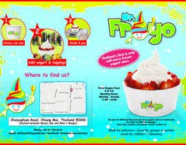 #15 for MrFroyo flyer design af unophotographics