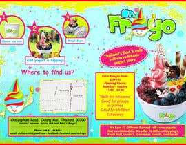 #17 for MrFroyo flyer design af unophotographics