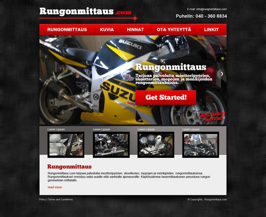 Kilpailutyö #                                        3                                      kilpailussa                                         Design a Website Mockup for static site