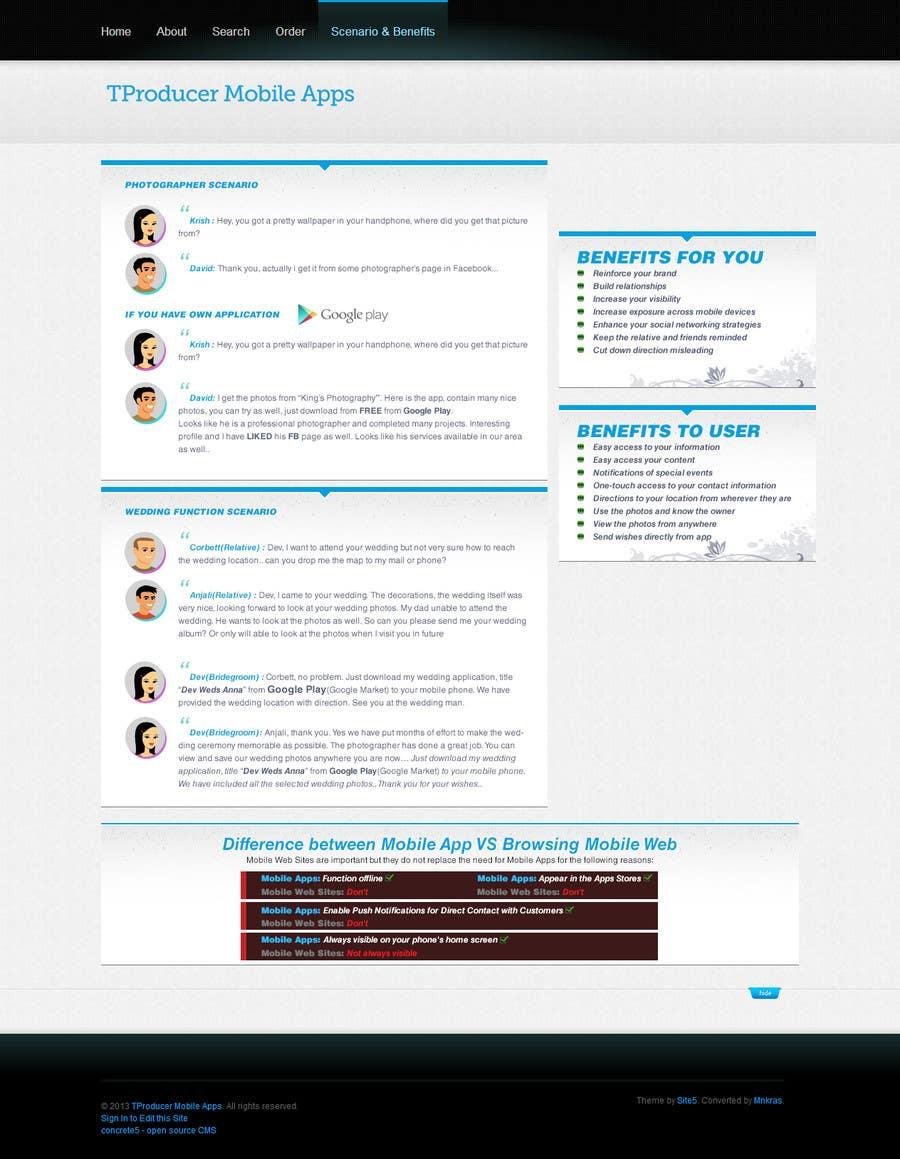 Kilpailutyö #2 kilpailussa Design Website Content Image