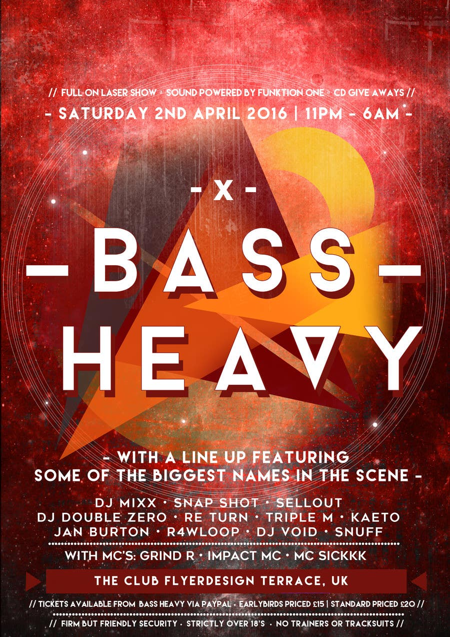 Entry #39 by stephhaber for Drum and Bass event flyer