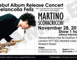 #3 para Design a Flyer for Album Release Concert por Yadiraposadam