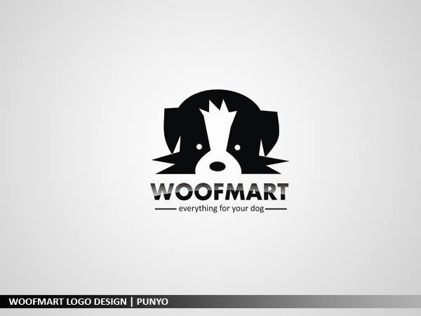 #47 for Logo design for Woof Mart by punyo