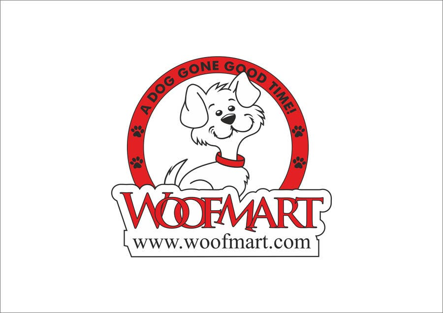 #27 for Logo design for Woof Mart by raju2301