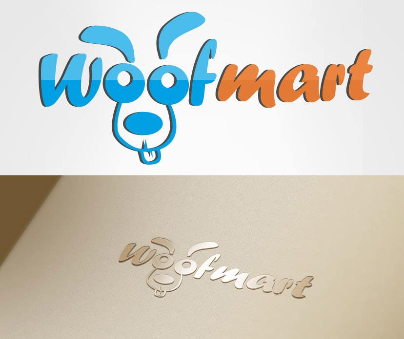 #33 for Logo design for Woof Mart by dheyness