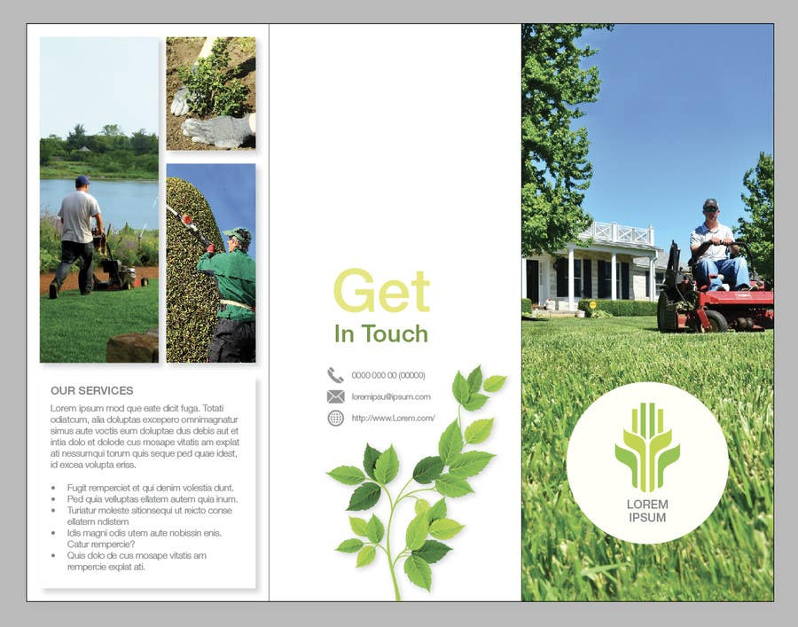entry 20 by nehainnovative for design a brochure for a lawn