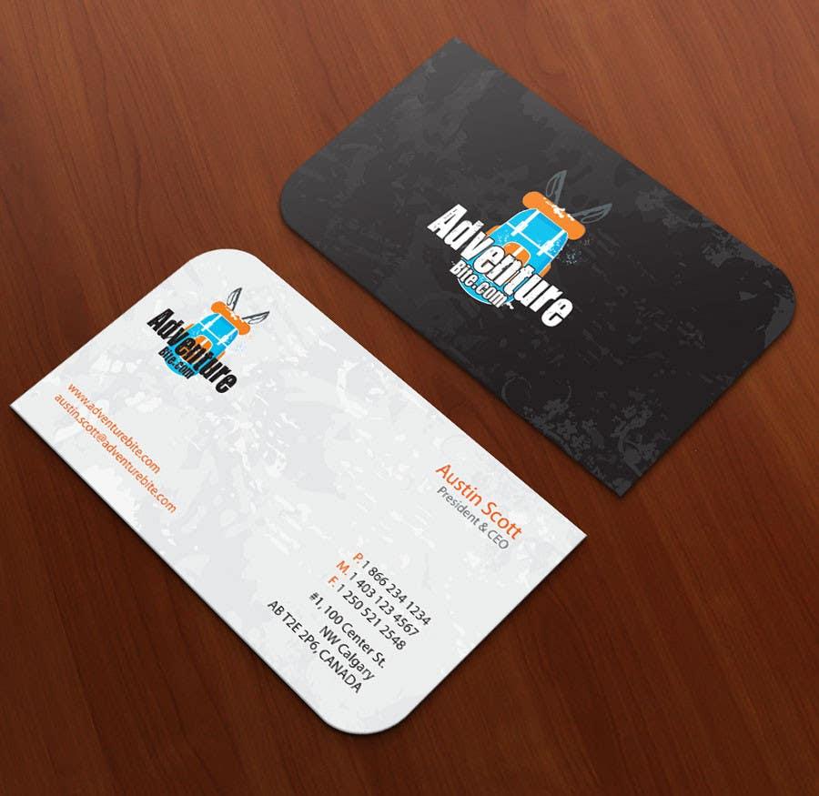 #11 for Design some Business Cards for AdventureBite.com by midget