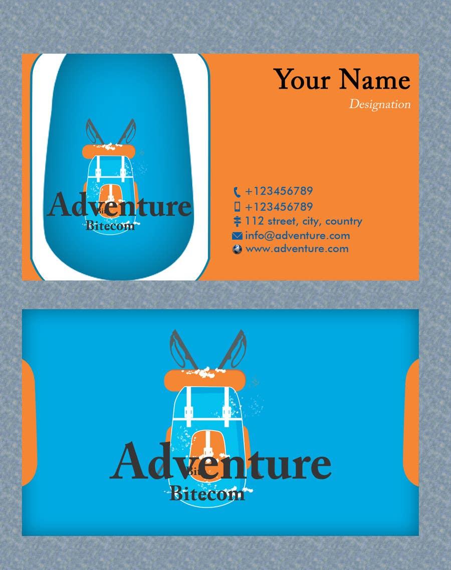 #21 for Design some Business Cards for AdventureBite.com by Masumulhaque