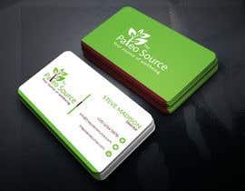 #95 untuk Online Health Food Store Business Card oleh mamunqf