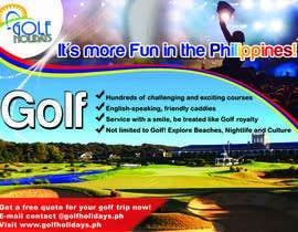 #24 para Poster/ Advertisement for Golf Holidays  - RUSH Deadline Sep.13 por armanlim