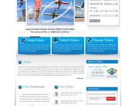 nº 2 pour Flight website design - One page par designerartist