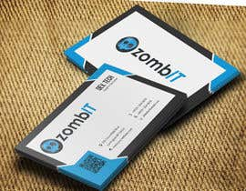 nº 9 pour Business Cards for zombit.mx par developingtech