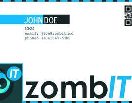 nº 5 pour Business Cards for zombit.mx par PauleyDD