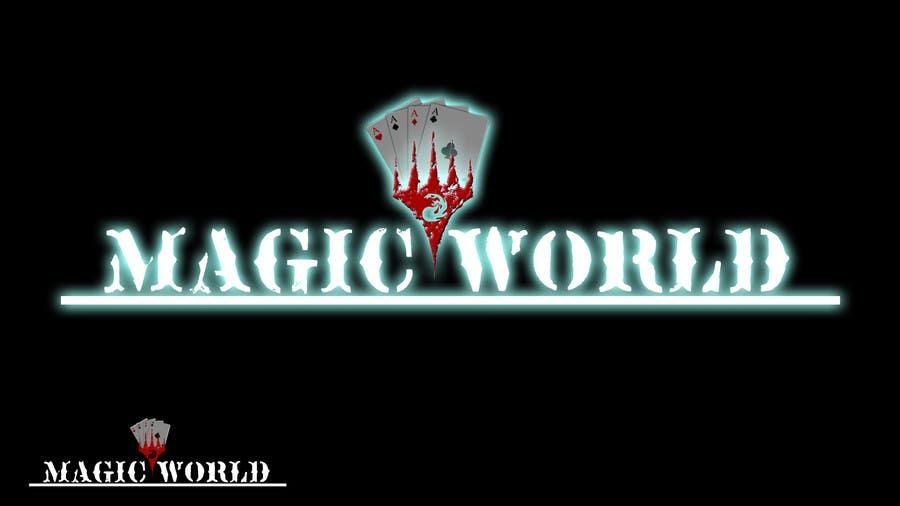 Penyertaan Peraduan #31 untuk Design a Logo for MagicWorld.co.uk