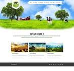 Contest Entry #12 for Design a Website Mockup for IslandFarming.com & Logo