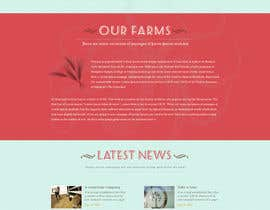 #23 cho Design a Website Mockup for IslandFarming.com & Logo bởi thecwstudio