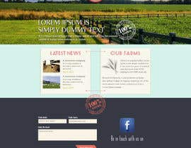 #24 para Design a Website Mockup for IslandFarming.com & Logo por thecwstudio