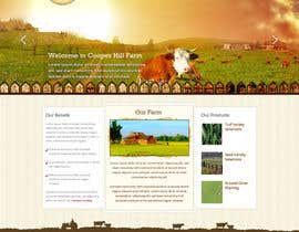 #35 para Design a Website Mockup for IslandFarming.com & Logo por rainbowfeats