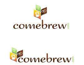 #28 for ComeBrew Logo Design by RoxanaFR