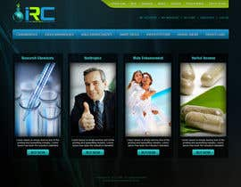 tania06 tarafından Wordpress Theme Design for Import Research Chemicals için no 2