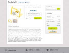 dragnoir tarafından Wordpress Theme Design for Import Research Chemicals için no 15
