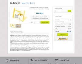 dragnoir tarafından Wordpress Theme Design for Import Research Chemicals için no 18