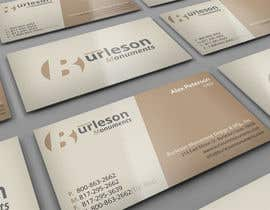 #11 untuk Design some Business Cards for Monument / Headstone company oleh midget