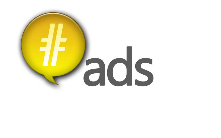 Penyertaan Peraduan #247 untuk Design a Logo for Hash Tag Ads