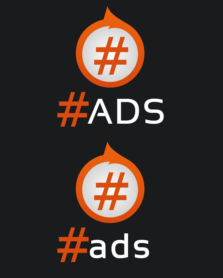 Penyertaan Peraduan #9 untuk Design a Logo for Hash Tag Ads