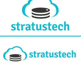 nº 43 pour Design a Logo for Stratustech (Cloud Computing Hosting) par lpfacun