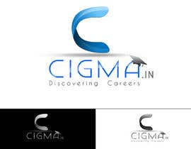 nº 83 pour Company logo Design for CIGMA INDIA - India's Leading Career Counseling Organization par vishakhvs