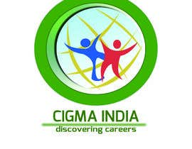 nº 90 pour Company logo Design for CIGMA INDIA - India's Leading Career Counseling Organization par pialisingh
