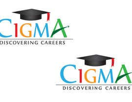 nº 95 pour Company logo Design for CIGMA INDIA - India's Leading Career Counseling Organization par GamingLogos