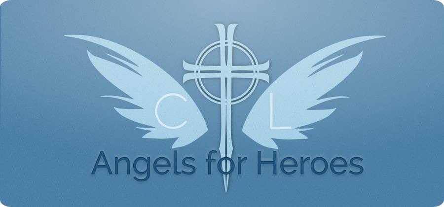 """Penyertaan Peraduan #7 untuk Design a Logo for """"Angels for Heroes"""""""
