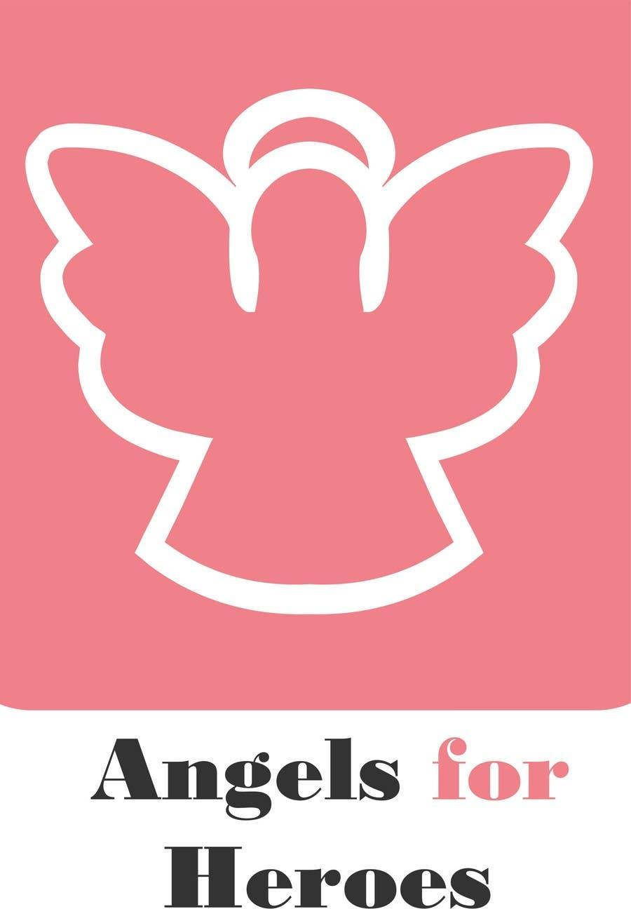 """Penyertaan Peraduan #6 untuk Design a Logo for """"Angels for Heroes"""""""