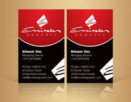 "#22 para Design some Business Cards for my company ""Emirates Graphic"" por linokvarghese"