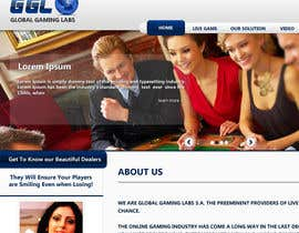 nº 31 pour Website Design for A Leading Live Casino Software Provider par emdes19