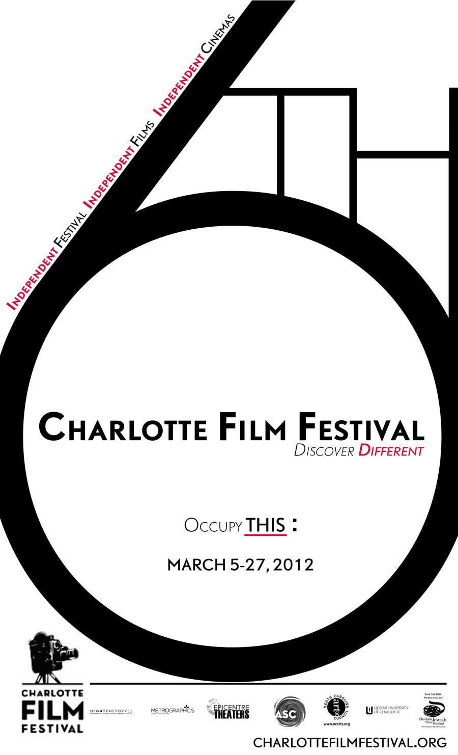 Proposition n°78 du concours Design materials for the Charlotte International Film Festival