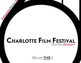 #78 untuk Design materials for the Charlotte International Film Festival oleh astrofish