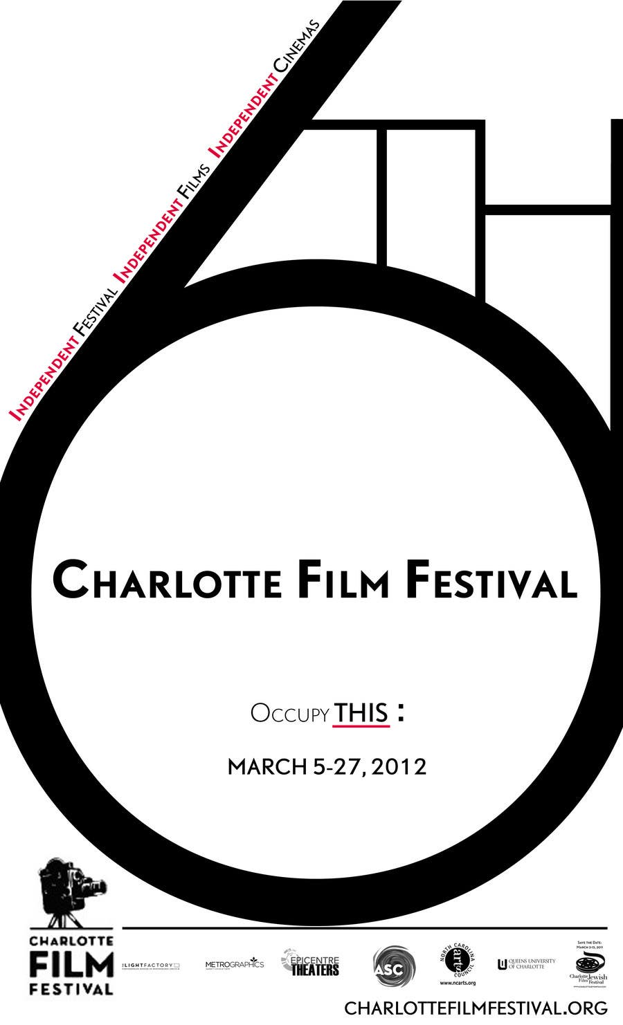 Proposition n°77 du concours Design materials for the Charlotte International Film Festival