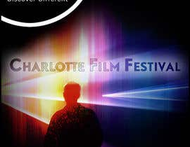 #105 untuk Design materials for the Charlotte International Film Festival oleh arfling